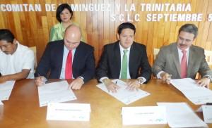 PRESIDENTES DE SAN CRISTOBAL, TUXTLA, COMITÀN, TRINITARIA.