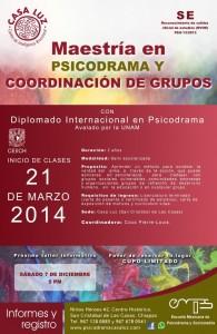 PSICODRAMA Y COORDINACIÓN DE GRUPOS.