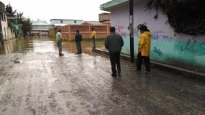 LOS HABITANTES EN ALERTA POR LOS NIVELES DEL RIO