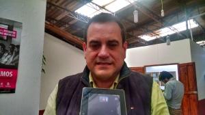 Victor Hugo Escobar Muñoz. Titular de la 05 Junta Distrital en San Cristóbal.