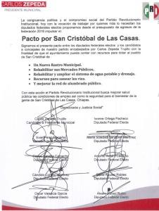 Carlos Zepeda. Candidato del PRI a la presidencia.