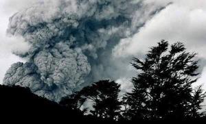Actividad volcánica.