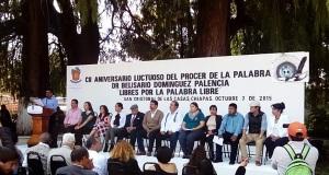 """El alcalde coleto, recalco. Nunca hay que olvidar lo que nos enseñó don Belisario Domínguez: """"Si cada uno de los mexicanos hiciera lo que le corresponde, la Patria estaría salvada""""."""